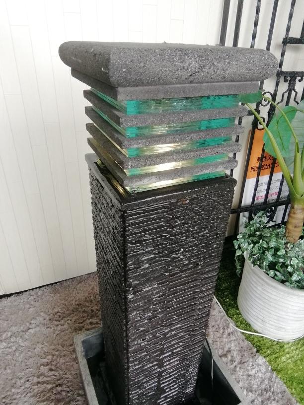 ~Kaca fountain~癒しのファウンテン流水オブジェが入荷いたしました。